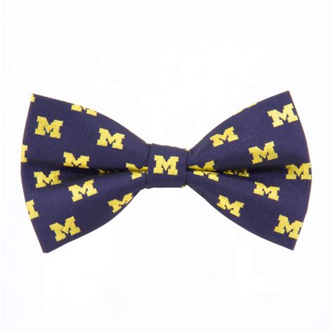 of michigan wolverines bow tie absolute ties