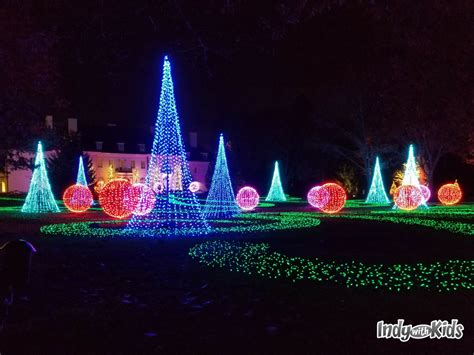 indianapolis tree lighting 2017 ima newfields winterlights indy with
