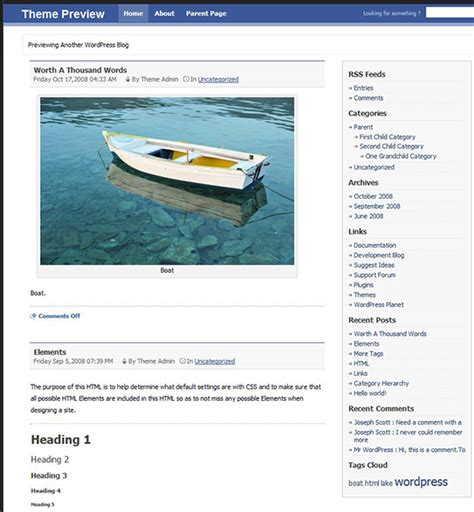 facebook themes in wordpress facebook wordpress themes