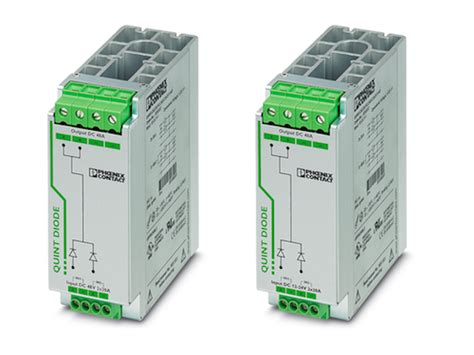 diode quint diode power supplies for redundant applications