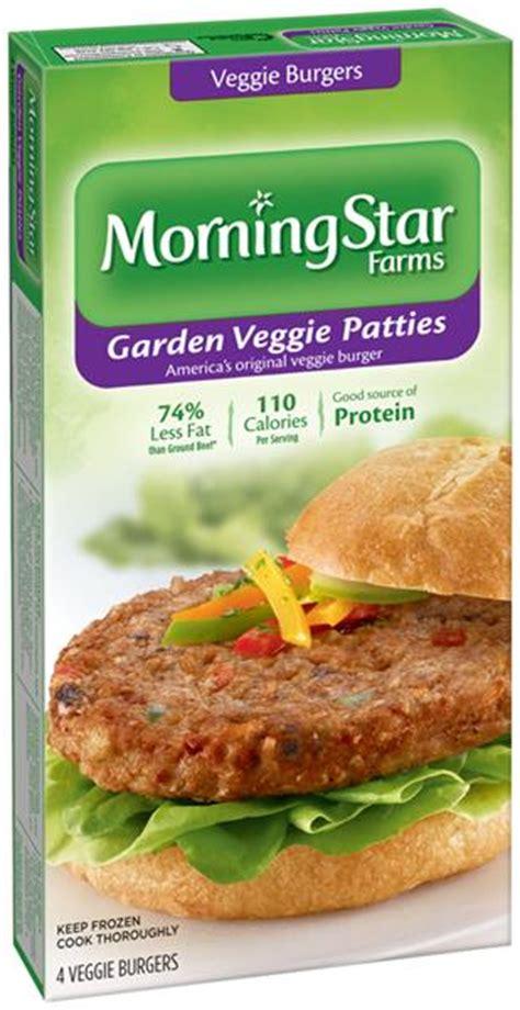 Garden Burger Nutrition by Veggie Burger Nutrition Facts Morningstar