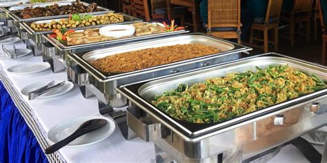 buffet menu bebek bengil restaurant