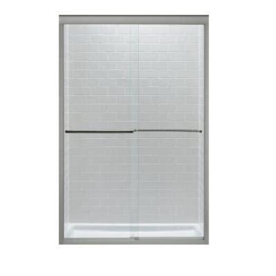 Sliding Door Window Treatments 5678 by Kohler Fluence 47 5 8 In X 70 5 16 In Semi Framed