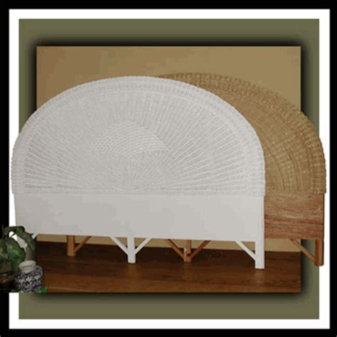 fancy king wicker headboard king size wicker
