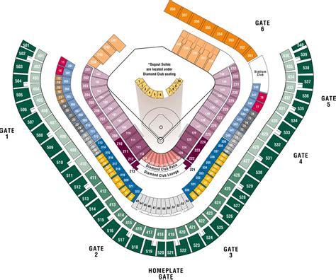 Anaheim Stadium Seating | angel stadium of anaheim anaheim ca seating chart view