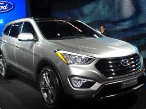 Hyundai 7 Passenger Santa Fe In Pictures 2012 New York Auto Show Vehicle