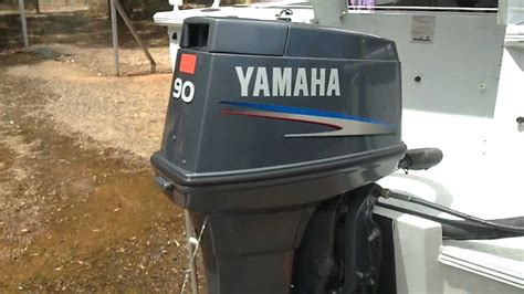 yamaha  hp  stroke boat motor youtube