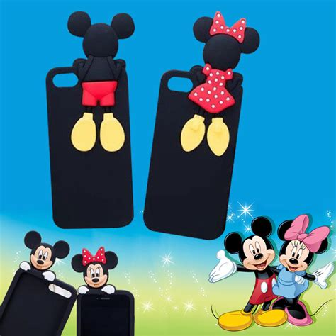 Casecassingcasing Soft Silicone Minnie Mouse For Iphone 6 Plus popular minnie mouse iphone 5 buy cheap minnie mouse
