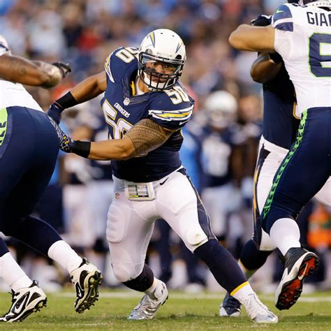 manti te o of san diego chargers has foot sprain out for week