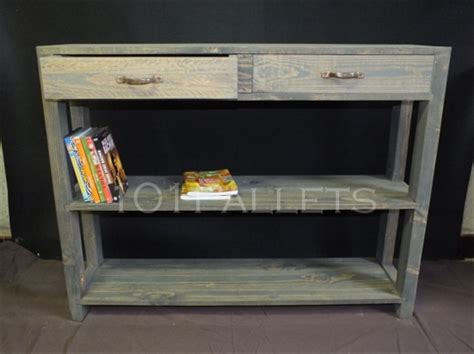 Pallet Console Table Make A Pallet Console Table