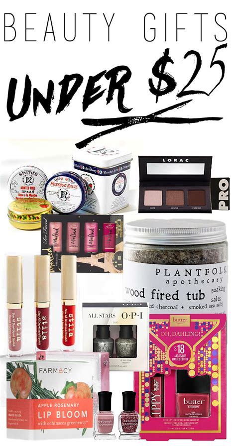 gifts under 25 beauty gifts under 25 dollars makeup beauty tips