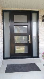 Modern Front Door by 25 Best Ideas About Modern Exterior Doors On Pinterest