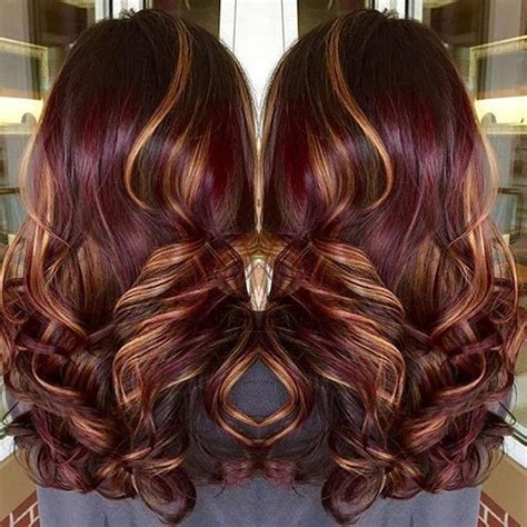 gorgeous burgundy hairstyles   love