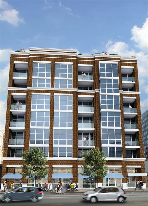Apartment Chicago Town 60 Unit Luxury Apartment Building Coming To