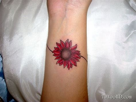 sunflower wrist tattoos 41 graceful flowers wrist tattoos