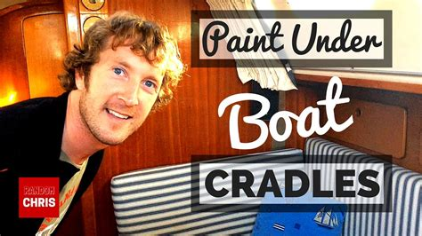 boat under paint how to paint under boat cradles when applying antifouling