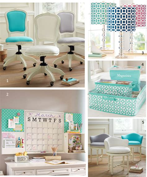 chic office supplies mg decor update your home office with these preppy chic