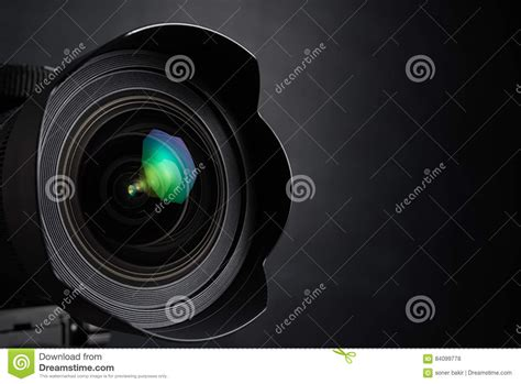 digital with lens digital photo lens stock photo image 84099778