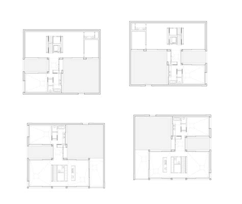 4 courtyard houses by think architecture gallery of 4 courtyard houses think architecture 16