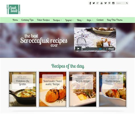 themes wordpress food 35 best food blog wordpress themes 2016 designmaz