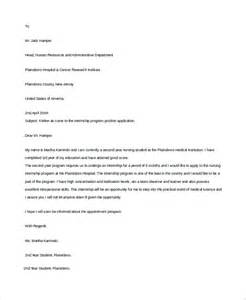 Cover Letter For Student Resume by Resume Cover Letter Exle 9 Sles In Word Pdf
