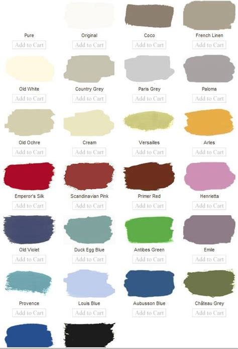sloan chalk paint color chart quotes
