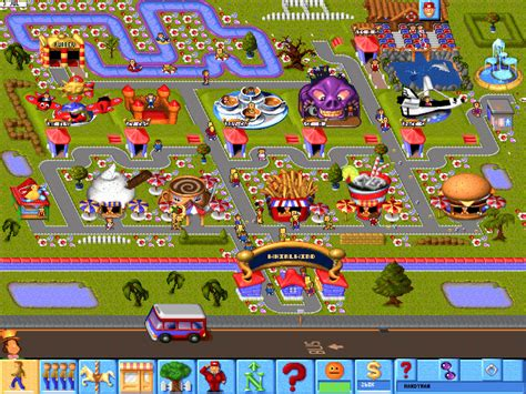 theme park video game lost entertainment gaming theme park