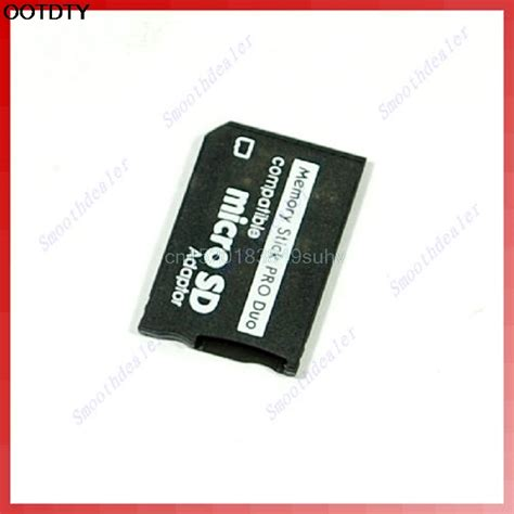 Memory Card Untuk Psp micro sd sdhc tf to memory stick ms pro duo psp adapter converter card new in memory card