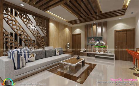 grand living upper living interior designs kerala home