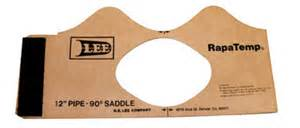 Pipe Saddle Template by 10 Quot 12 Pipe Saddle Templates