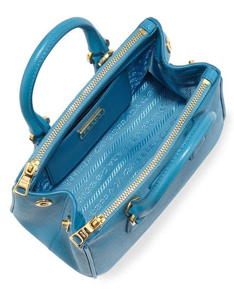 P Da Saffiano Mini Free Dompet prada saffiano mini galleria crossbody bag blue celeste