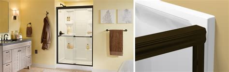 how to install a sliding shower door how to install a traditional style sliding glass shower