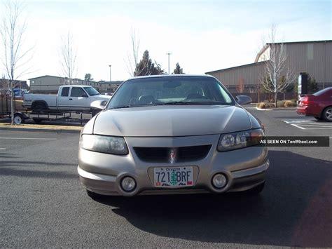 Pontiac Bonneville Ssei Supercharged by 2000 Pontiac Bonneville Ssei Supercharged