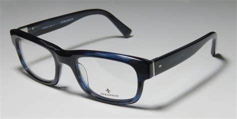 new seraphin oak 52 20 145 modern design eyeglass frame