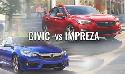 honda civic or subaru impreza newroads automotive