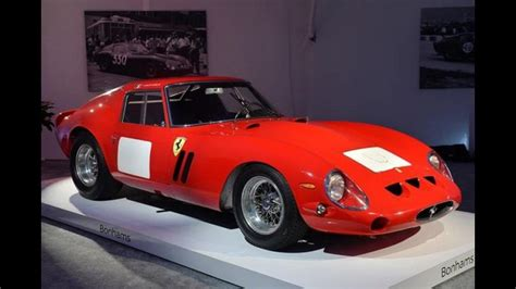 O Ferrari Mais Caro Do Mundo by Carro Mais Caro Do Mundo Ferrari 250 Gto 233 Leiloada Por R