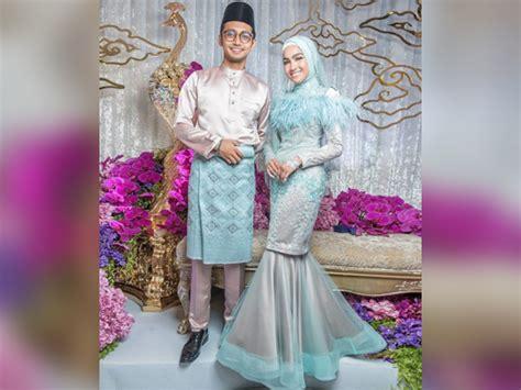 Baju Tunang Sufian Suhaimi elfira sufian bertunang nikah mac depan mynewshub