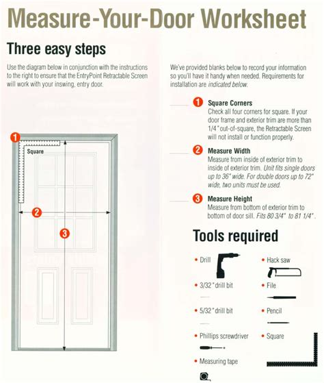 How To Measure A Front Entry Door