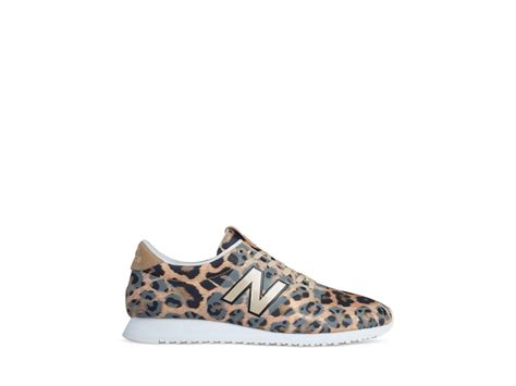 leopard print sneakers for new balance leopard print 420 sneakers lyst