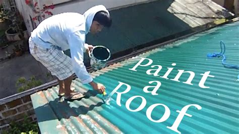 how to paint a roof in the philippines lambang by ordub