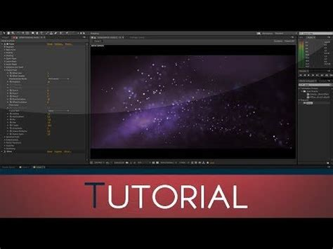 tutorial after effects cinema 4d abstract particles using trapcode form after effects