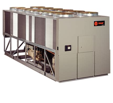 air cooled chillers trane commercial