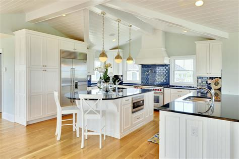 blue and white tile backsplash blue kitchen walls with white cabinets 2016 colors loversiq