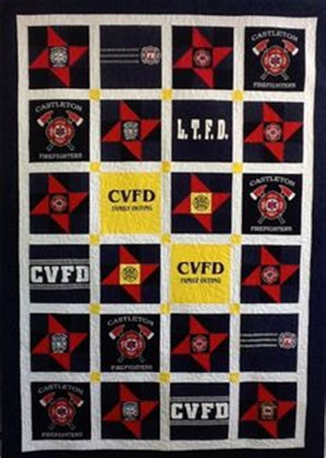 Fireman Quilt Pattern by Firefighter Quilts On Maltese Cross