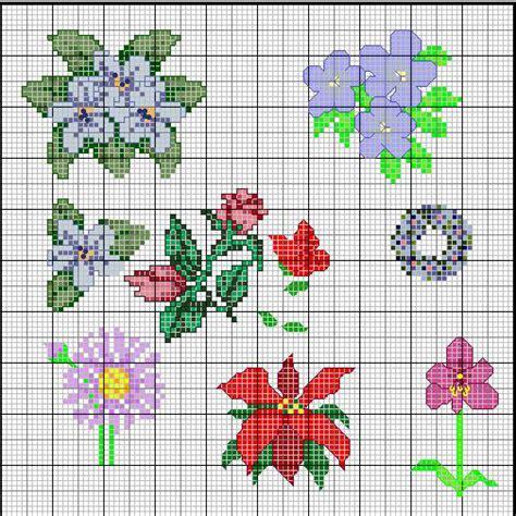 punto croce schemi fiori i fiori di schemi punto croce