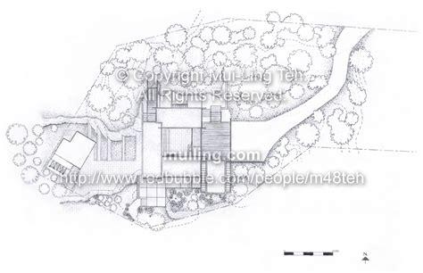 mui teh architectural drawings and material studies