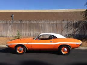 seller of classic cars 1970 dodge challenger go mango
