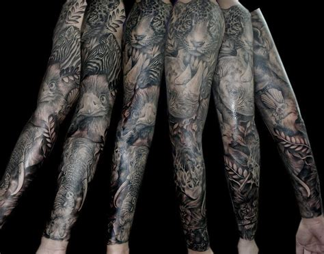 animal tattoo sleeve 17 best images about animal sleeve on giraffe