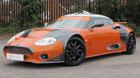 spyker review 2009 spyker c8 laviolette lm85 start up exhaust and in
