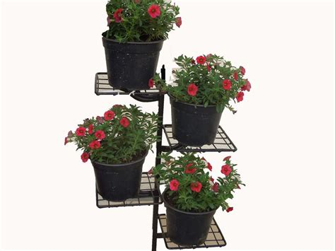 Wall Pot Stand 4 Pot Wall Stand Buy Wall Plant Stand In India